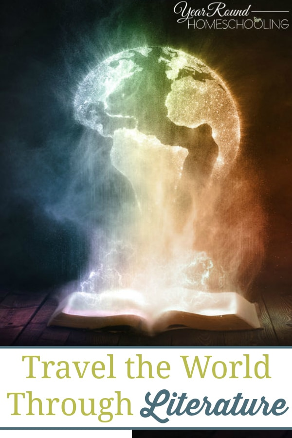 travel the world through literature, literature, books, reading
