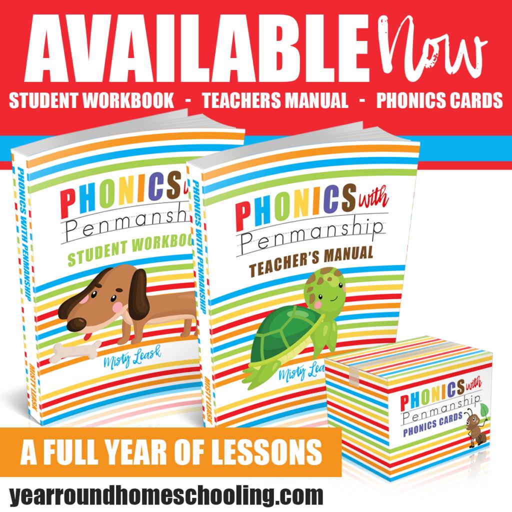 Phonics with Penmanship – A Full Year Preschool Age Program