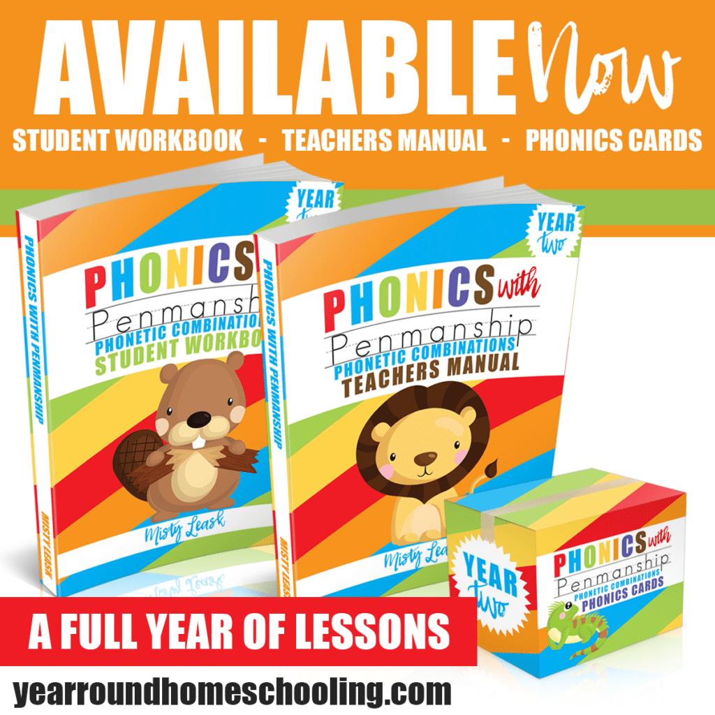 Phonics with Penmanship: Phonetic Combinations – A Full Year Kindergarten  Age Program