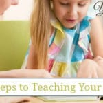 4 Important Steps to Teaching Your Child to Read