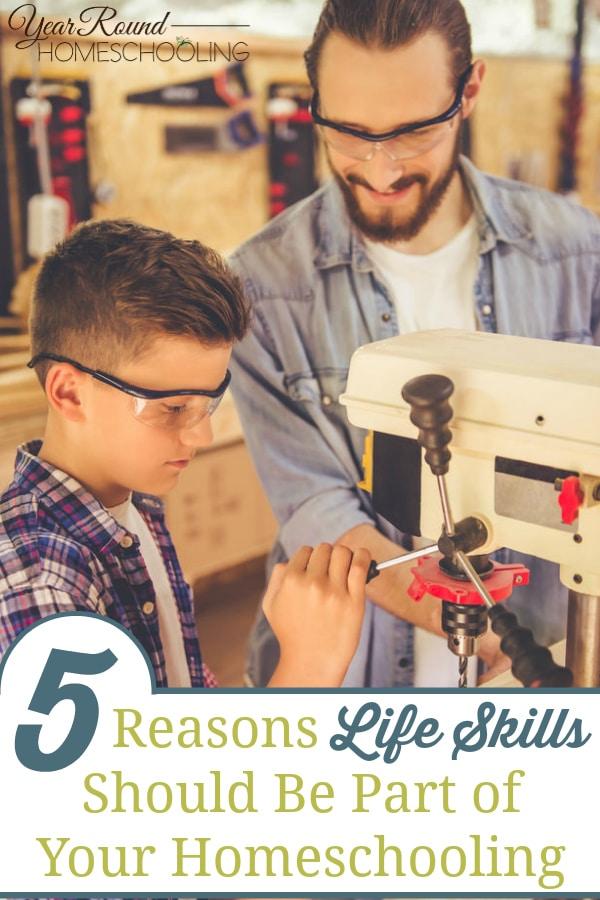 life skills, teaching life skills, homeschool life skills
