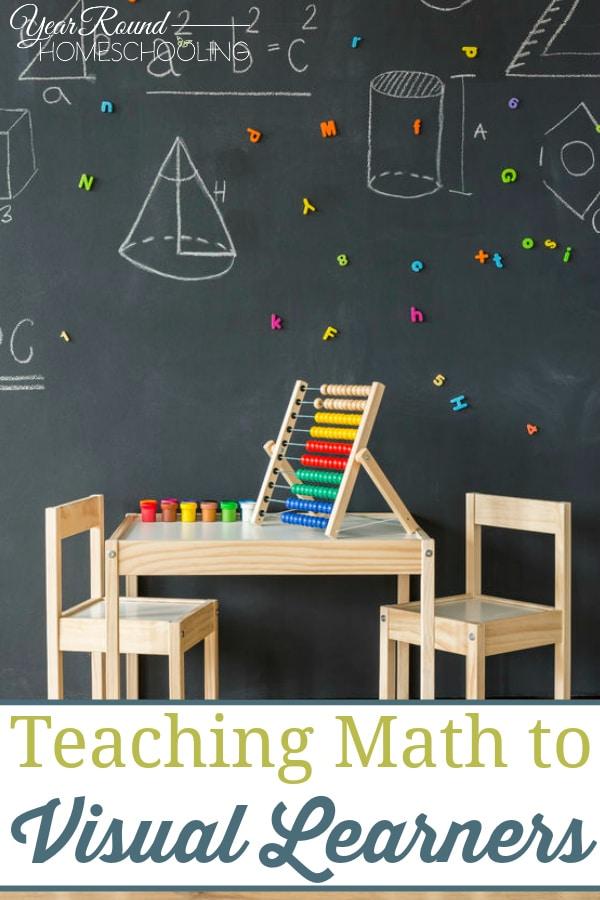 teaching math to visual learners, visual learners, math