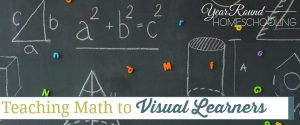 teaching math to visual learners, visual learners, math