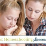 Filling in the Gaps: Homeschooling Special Needs Kids