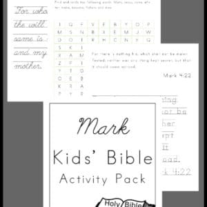 mark kids' bible activity, mark kids bible activity, mark kids bible