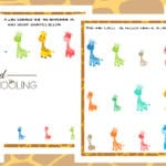 A as in Tall Activity Pack
