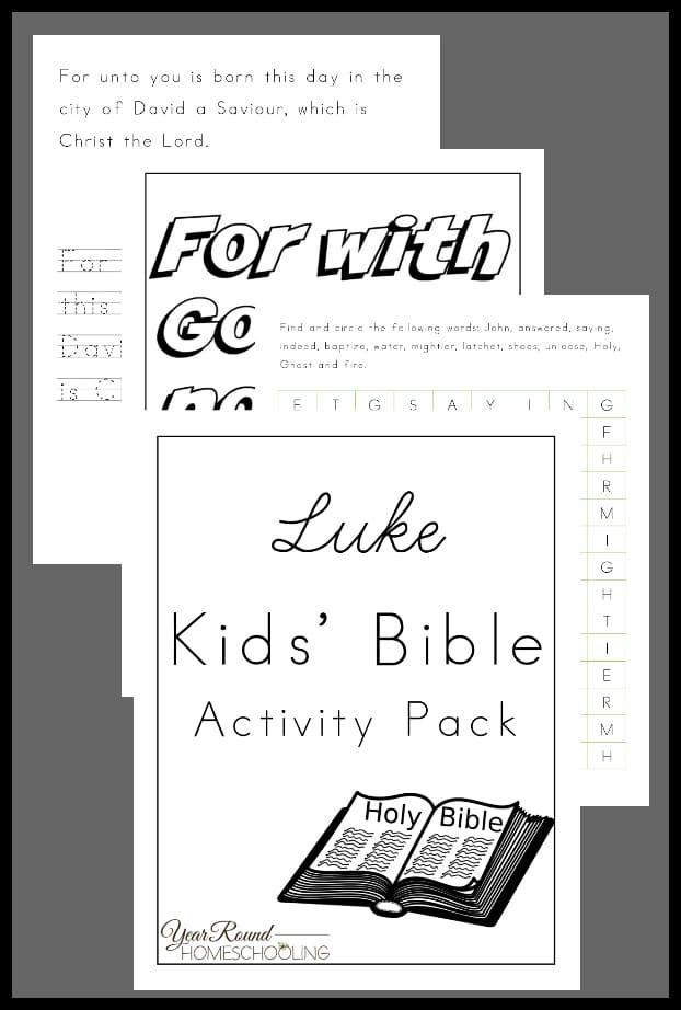 luke kids' bible activity, luke kids bible activity, luke kids bible