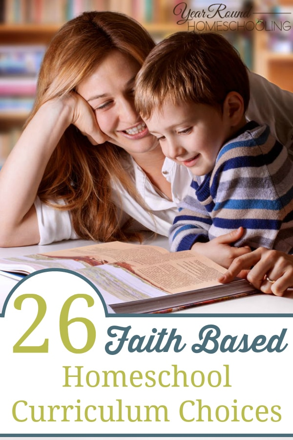 faith based homeschool curriculum, christian homeschool curriculum