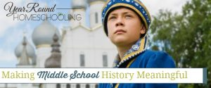 Making Middle School History Meaningful