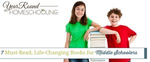 7 Must-Read, Life-Changing Books for Middle Schoolers