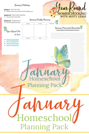 January Planning Pack