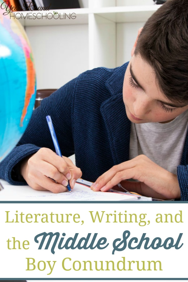 middle school boy writing, middle school boy literature, middle school writing, middle school literature, homeschooling middle school, homeschool middle school, middle school, middle schooler