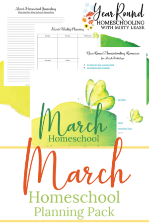March Planning Pack