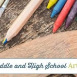 Our Favorite Middle and High School Art Curriculum