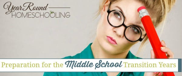 Preparation for the Middle School Transition Years
