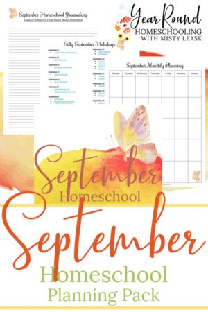 September Planning Pack