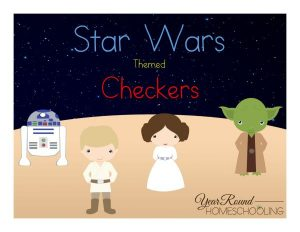 Star Wars Checkers Pack
