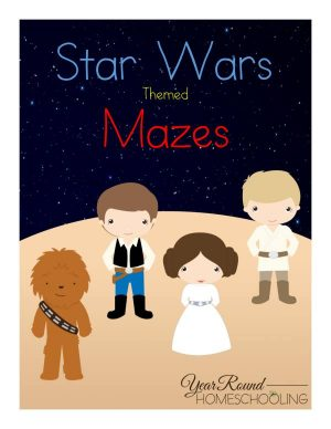 Star Wars Mazes Pack
