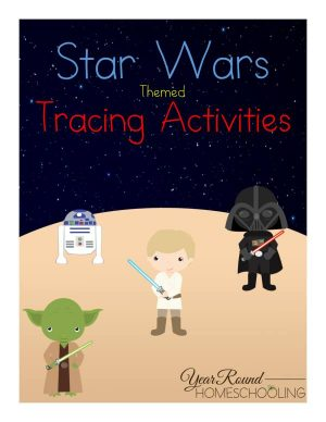 Star Wars Tracing Pack
