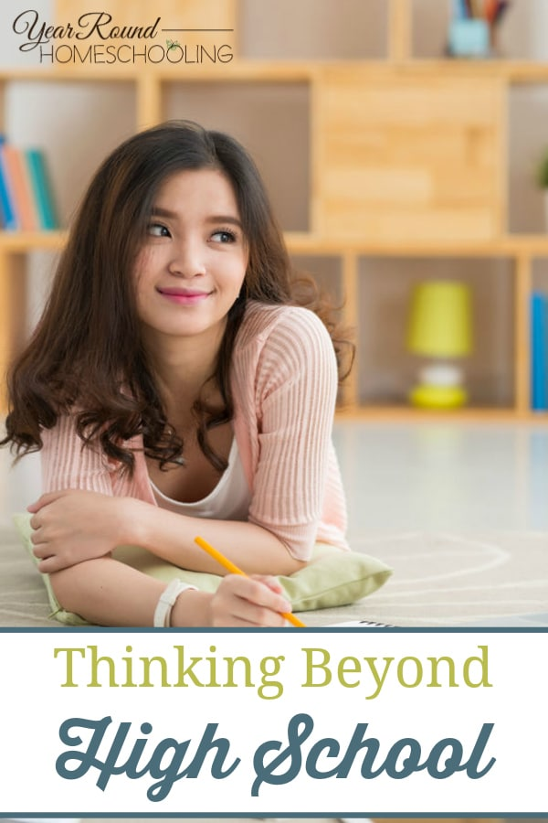 thinking beyond high school, beyond high school, homeschooling middle school, homeschool middle school, middle school, middle schooler
