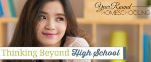 Thinking Beyond High School