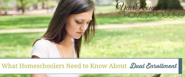 What Homeschoolers Need to Know About Dual Enrollment