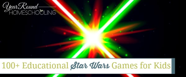 educational star wars games, star was educational games, star wars games, star wars school, star wars homeschool, star wars homeschooling