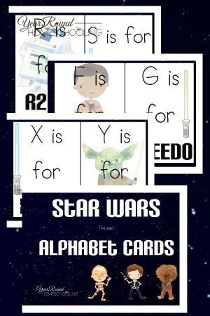 Star Wars Alphabet Cards