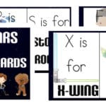 Star Wars Alphabet Cards