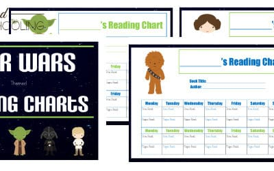 star wars reading charts, star wars reading, star wars