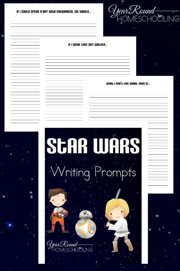 star wars writing prompts, star wars writing, star wars