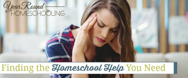 finding homeschool help, find homeschool help, homeschool help