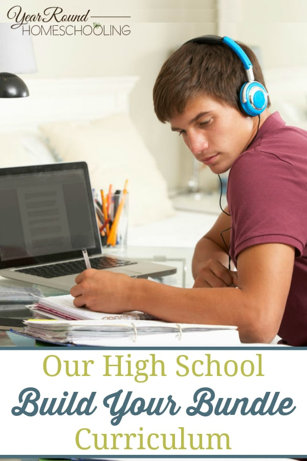 high school build your bundle curriculum, high school build your bundle sale curriculum, build your bundle sale curriculum