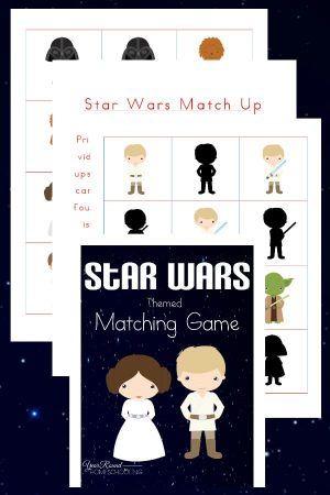 Star Wars Matching Game