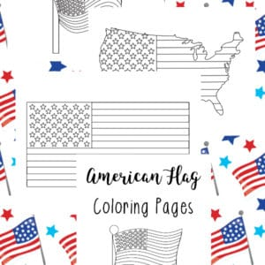 American Flag Coloring Pages - Year Round Homeschooling