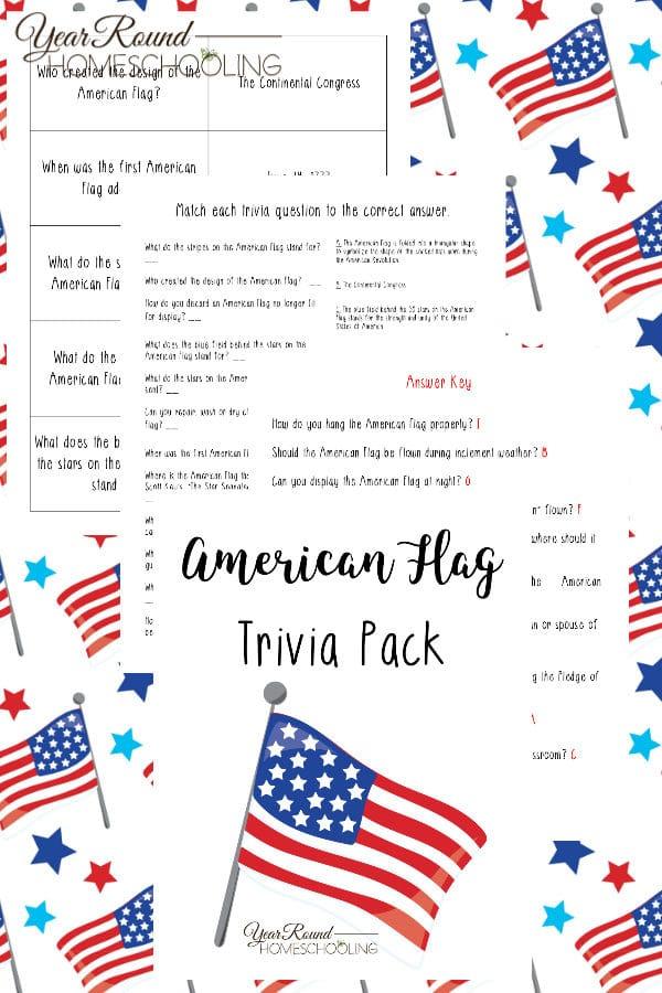 american flag trivia, american flag study, united states flag trivia, united states flag study