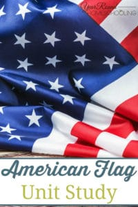 american flag unit study, american flag study, american flag, flag day