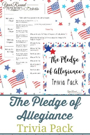 The Pledge of Allegiance Trivia Pack