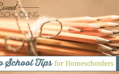 Back to School Tips for Homeschoolers