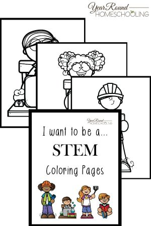 I want to be a…STEM Coloring Pages