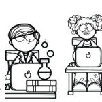 I Want to Be…STEM Coloring Pages