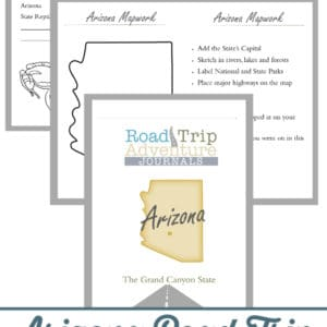arizona road trip, arizona road trip journal, arizona road trip adventure journal