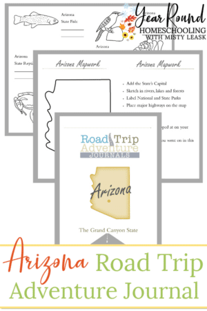 Arizona Road Trip Adventure Journal