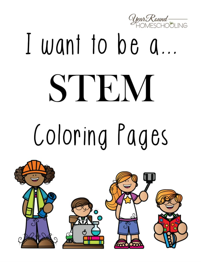 FREE STEM Coloring Pages