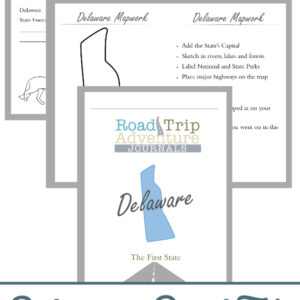 delaware road trip, delaware road trip journal, delaware road trip adventure journal