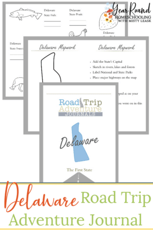 Delaware Road Trip Adventure Journal