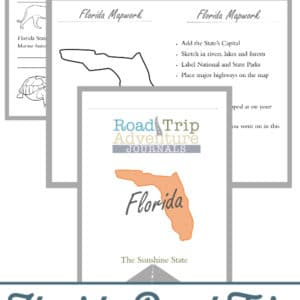 florida road trip, florida road trip journal, florida road trip adventure journal