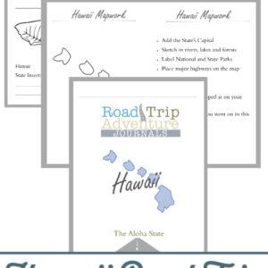 hawaii road trip, hawaii road trip journal, hawaii road trip adventure journal