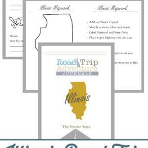 illinois road trip, illinois road trip journal, illinois road trip adventure journal