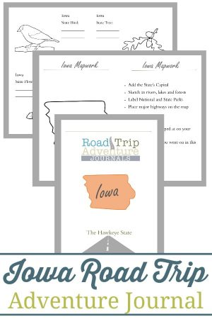 Iowa Road Trip Adventure Journal